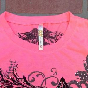 Ocasion Tops - Hot Pink cowgirl shirt